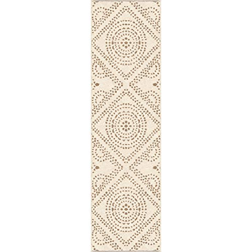- Orian Rugs Farmhouse Sonoma Collection 413359 Indoor/Outdoor Camille Runner Rug, 2'3