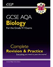 Grade 9-1 GCSE Biology AQA Complete Revision & Practice with Online Edition (CGP GCSE Biology 9-1 Revision)