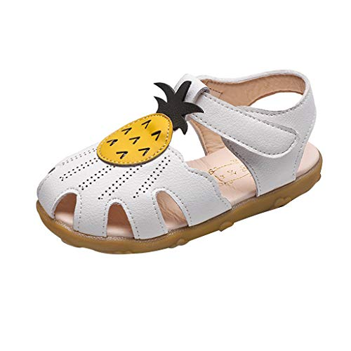ChainSee Kids Girls Pineapple Beach Shoes Summer Hollow Out Princess Shoes Sandals