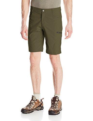 Columbia Men's Silver Ridge Stretch Shorts, Peat Moss, 38 x 10