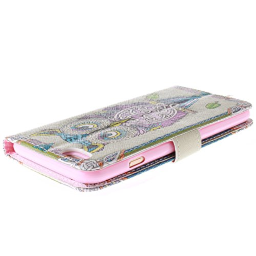 "2015 New Fashion Wallet Case Pour Apple iphone 6(4.7"") , Yaobai elegant Fleur [Magnetique] Portefeuille PU Cuir [Closure] Stand Folio Protecteur Housse Etui Coque Case Cover Pour Apple iphone 6G 4.7""i"