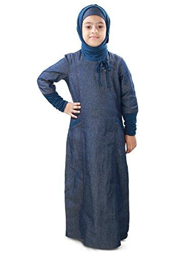 MyBatua-Maira-Blue-Denim-Kid-Casual-Abaya-Jilbab-AY-414-K