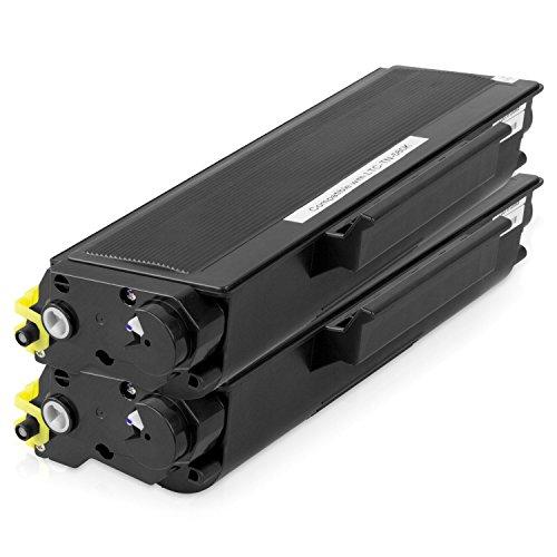 2PK Black - SOJIINK Brother Compatible TN-580 Toner for Brother HL-5240 5240L 5250DN 5270DN 5340 5350 5370 5380 5250DNT 5280DW DCP-8060 8065DN 8080 8085 MFC-8460N 8660DN 8670DN 8860DN (Brother Hl 5340 Toner)