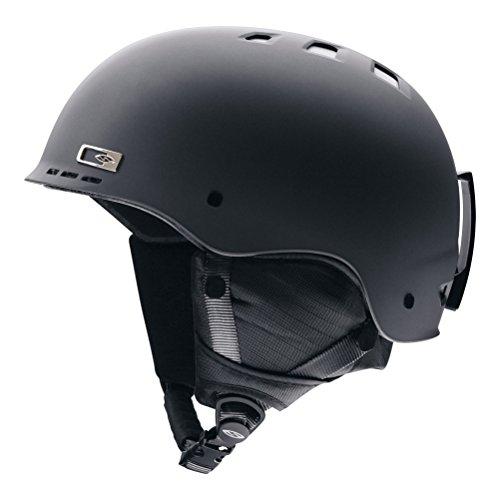 Smith Optics Holt Adult Ski Snowmobile Helmet , Matte Gunmetal , -