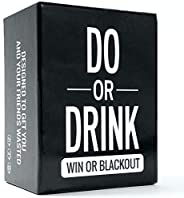 Do or Drink - Party Card Game - for College, Camping, 21st Birthday, Parties - Funny for Men & W