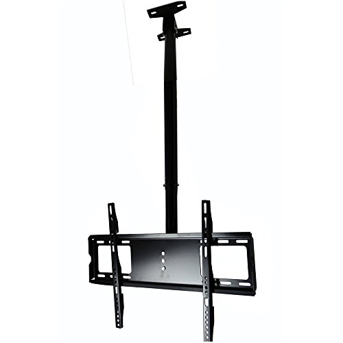 Henxlco Ceiling TV Wall Mount Tilt Rotate Bracket Flat Panel Screen Plasma LED LCD 26 28 32 40 42 47 50 (4in 1 Flat Panel Mount)
