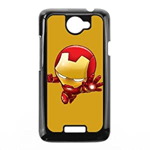 HTC One X Cell Phone Case Black Baby Iron Man GY9104181