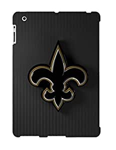 Fireingrass Ipad 2/3/4 Well-designed Hard Case Cover New Orleans Saints Nfl Football Protector For New Year's Gift