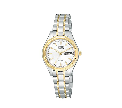 Citizen Women's Eco-Drive Two-Tone Stainless Steel Watch