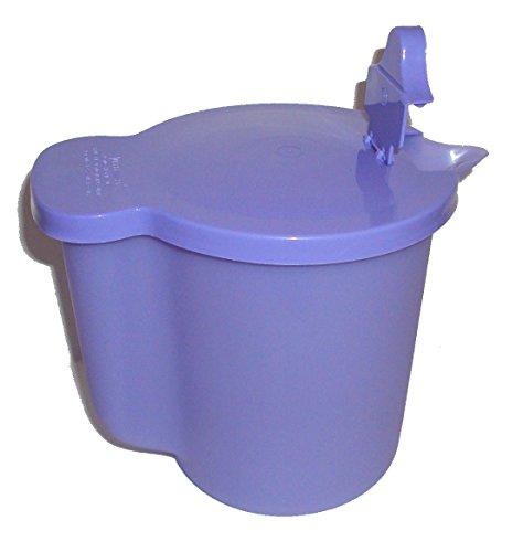 (Tupperware Vintage Style Large Milk Pitcher Flip Top Creamer Purple)