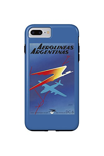 aerolineas-argentinas-vintage-poster-artist-colin-france-c-1950-iphone-7-plus-cell-phone-case-tough