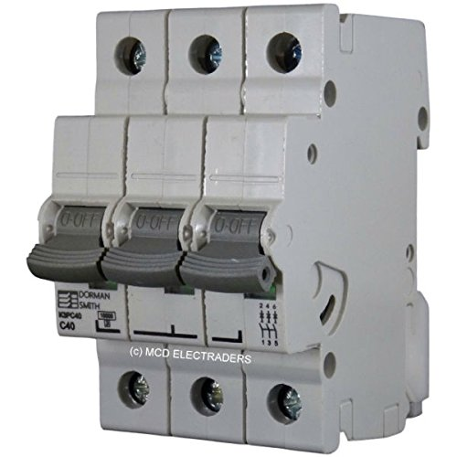Dorman Smith MCB K3PC40 40 Amp 3 Pole C