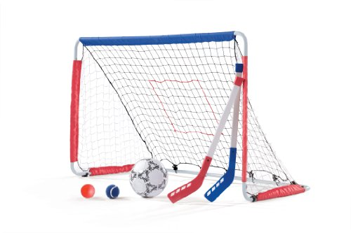 Step2  Kickback Soccer Goal And Pitch Back (Game Net Goal)