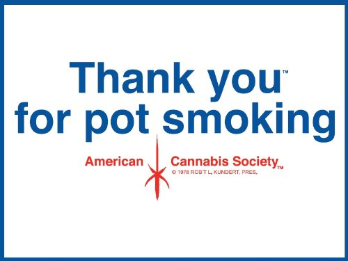 Vintage-24-x-18-Thank-You-For-Pot-Smoking-Weed-Wall-Poster