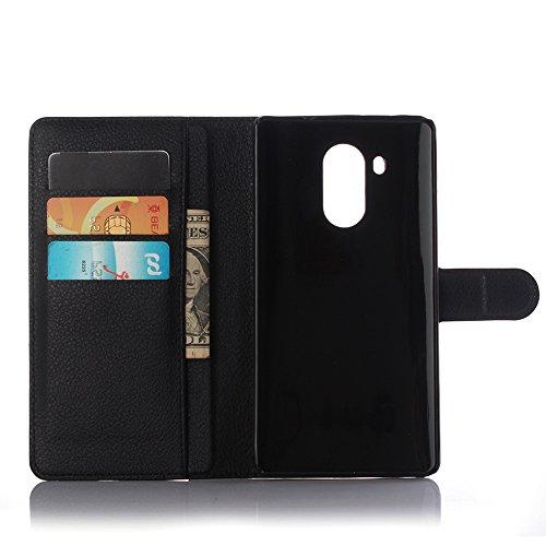 Manyip Funda Huawei Mate 8,Caja del teléfono del cuero,Protector de Pantalla de Slim Case Estilo Billetera con Ranuras para Tarjetas, Soporte Plegable, Cierre Magnético(JFC5-6) B