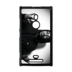 Pop Hip hop Singer Kendrick Lamar Duckworth&K.Dot Background Case Cover for Nokia Lumia 925- Personalized Hard Cell Phone Back Protective Case Shell-Perfect as gift