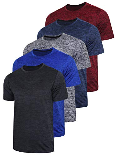 5 Pack Men's Active Quick Dry Cr...