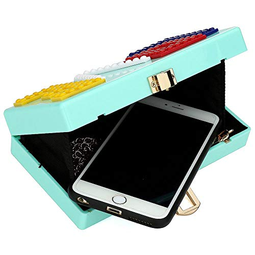 LOVE Acrylic Clutches Purse Fashion Evening Box Clutch Purse Ladies Crossbody Bag Purse Handbag for Party Travel Daily Use (Black) by KYIS (Image #1)