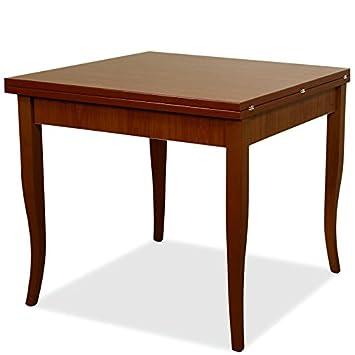 Sie Italien Tisch Esstisch Nussbaum Antik Holz Spanplatte 90 X 90/180