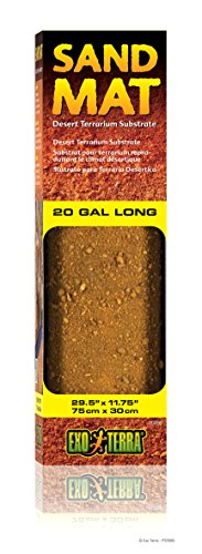 - Exo Terra Sand Mat, 20-Gallon