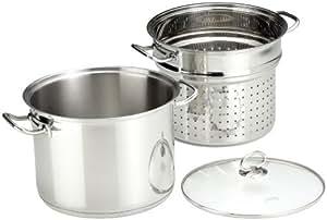Küchenprofi 23 8050 28 24 - Olla con escurridor de metal para pasta