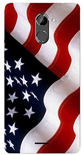 V K Art Gallery Classy Flag Printed Back Cover for: Amazon in