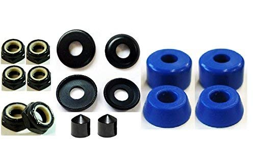 Brand New Skateboard Truck Rebuild Kit (Blue) (Best Skateboard Truck Brands)