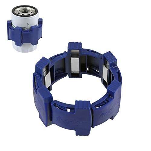 Generic Super-Power Oil Filter Magnet Traps Metal Particles in Oil Extends Engine Life - Rare Earth 4 Magnets 3 Inch