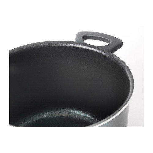 IKEA - SKÄNKA 6-piece cookware set, gray