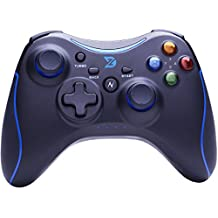 ZD-N+[2.4G] Wireless Gaming Controller for Steam,Nintendo Switch,PC(Win7-Win10),Android Tablet,TV BOX[Blue]
