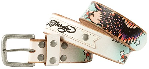 Ed Hardy EH1120K Eagle Patch Boys-Leather Belt