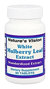Nature's Vision - White Mulberry Leaf Extract 500 mg. - 90 Tablets