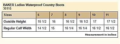 2dd7c1b0671 Baker Lexington Waterproof Tall Ladies Boot