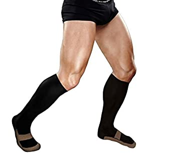 64c60a69cd18da Copper Compression Knee High Recovery Support Socks, #1 GUARANTEED Highest  Copper Content! Best
