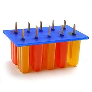 Norpro 423 Frozen Ice Pop Maker with 24 Wooden Sticks