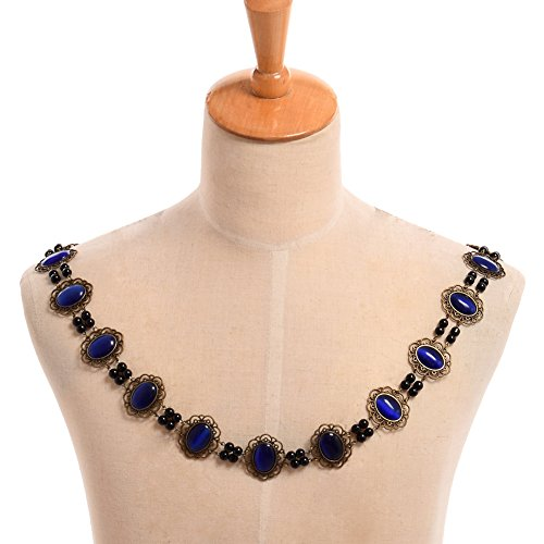 Men Elizabethan Costume (GRACEART Tudors Chain of Office Livery Collar Necklace (Royal)