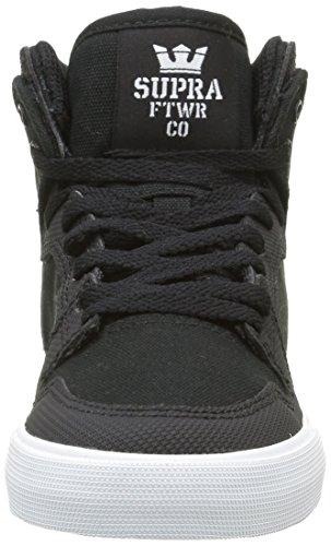 Supra Vaider - Zapatillas Unisex Niños Negro - negro (Black/White)