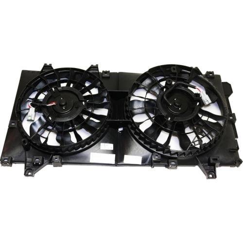 MAPM Premium MAZDA 3 14-16 RADIATOR FAN ASSY, Dual Fan ()