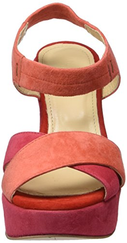 Red Cerise Sandalias Comb Platau Gardenia Para Mujer Rojo Sandal Copenhagen suede Cuña Con FBxxSvqw
