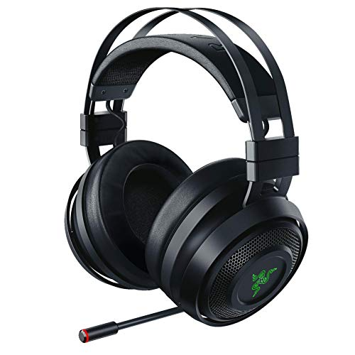Razer Nari Wireless 71 Surround Sound Gaming Headset THX Audio  AutoAdjust Headband  Swivel Cups