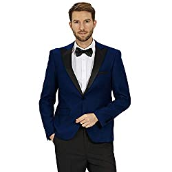 Men's Slim Fit One Button Jacket