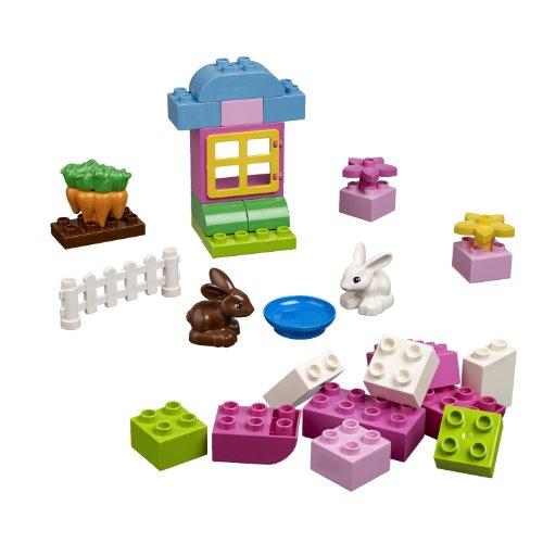 LEGO Bricks and More DUPLO Pink Brick Box 4623 (Duplo Brick Pink Box)