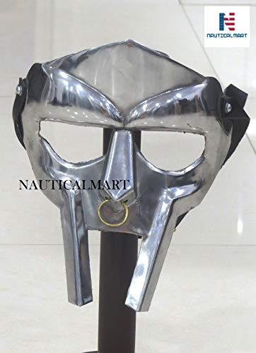 NAUTICALMART MF Doom Rapper Madvillain Gladiator Mask -