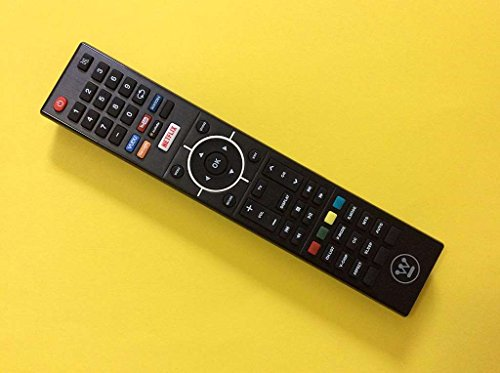 Westinghouse LCD TV Remote Control for Models WD65NC4190, WE55UC4200, WD55UT4490, WD50UT4490, WD42UT4490, WD55UB4530 (Part No: 845-058-03B00) from Westinghouse