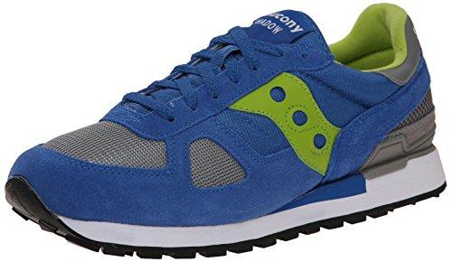 Sneakers Saucony Shadow de ante y nylon azul aciano Azul