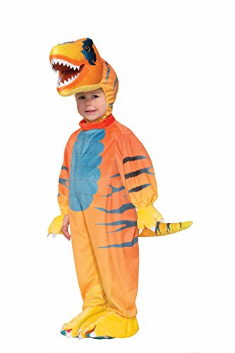 [Forum Novelties Kids Rascally Raptor Costume, Multicolor, Small] (T Rex Kids Costumes)