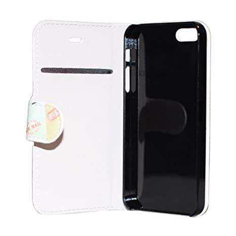 Amazon.com: iPhone 5S Case, nccypo Wallet Colorful Post ...