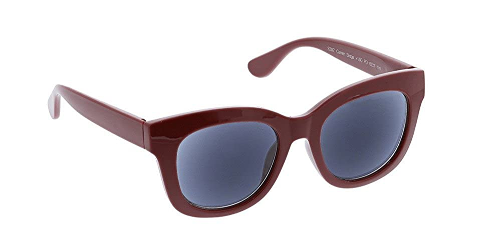 125244e81cc Peepers Women s Center Stage Reading Sun-Berry +1.00 Round Sunglasses