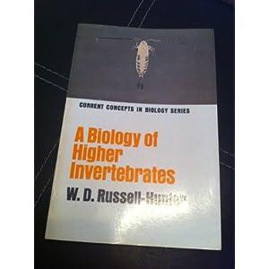 Biology of Higher Invertebrates (Concepts in Current Biology)