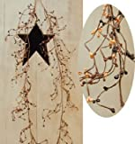 Pip Berry Wispy Garland Primitive Mix Country Floral Home Décor